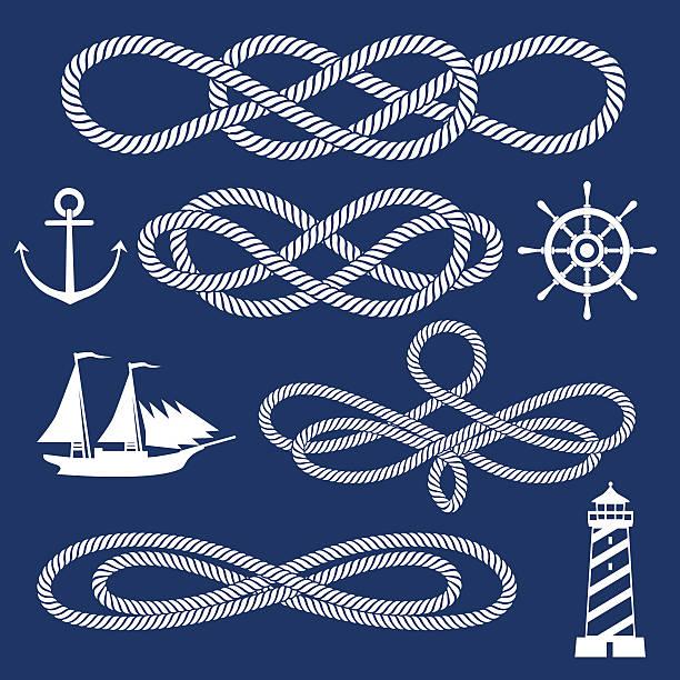 knot ornaments vector art illustration
