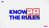 Know the Rules Concept Design