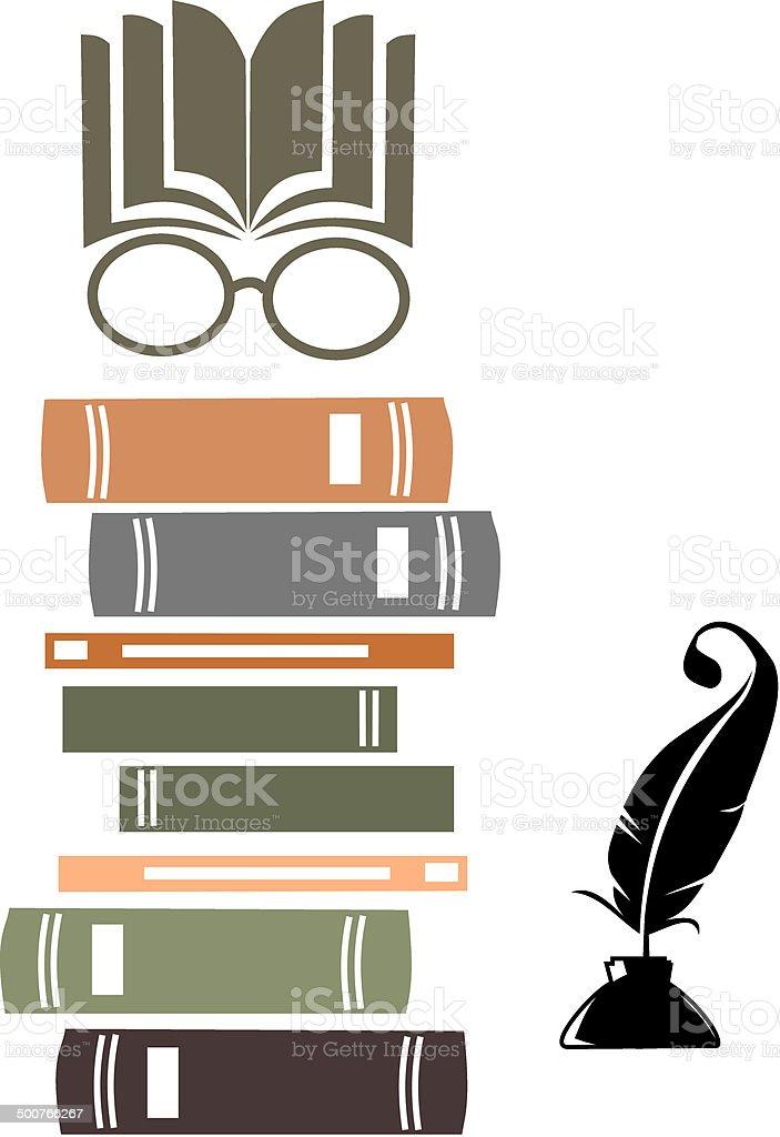 Knowledge vector art illustration