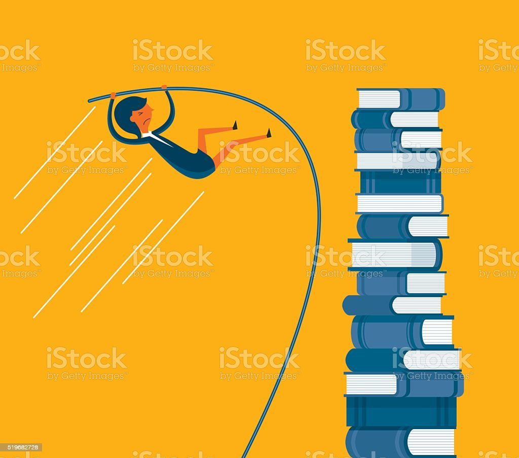 Knowledge vector art illustration