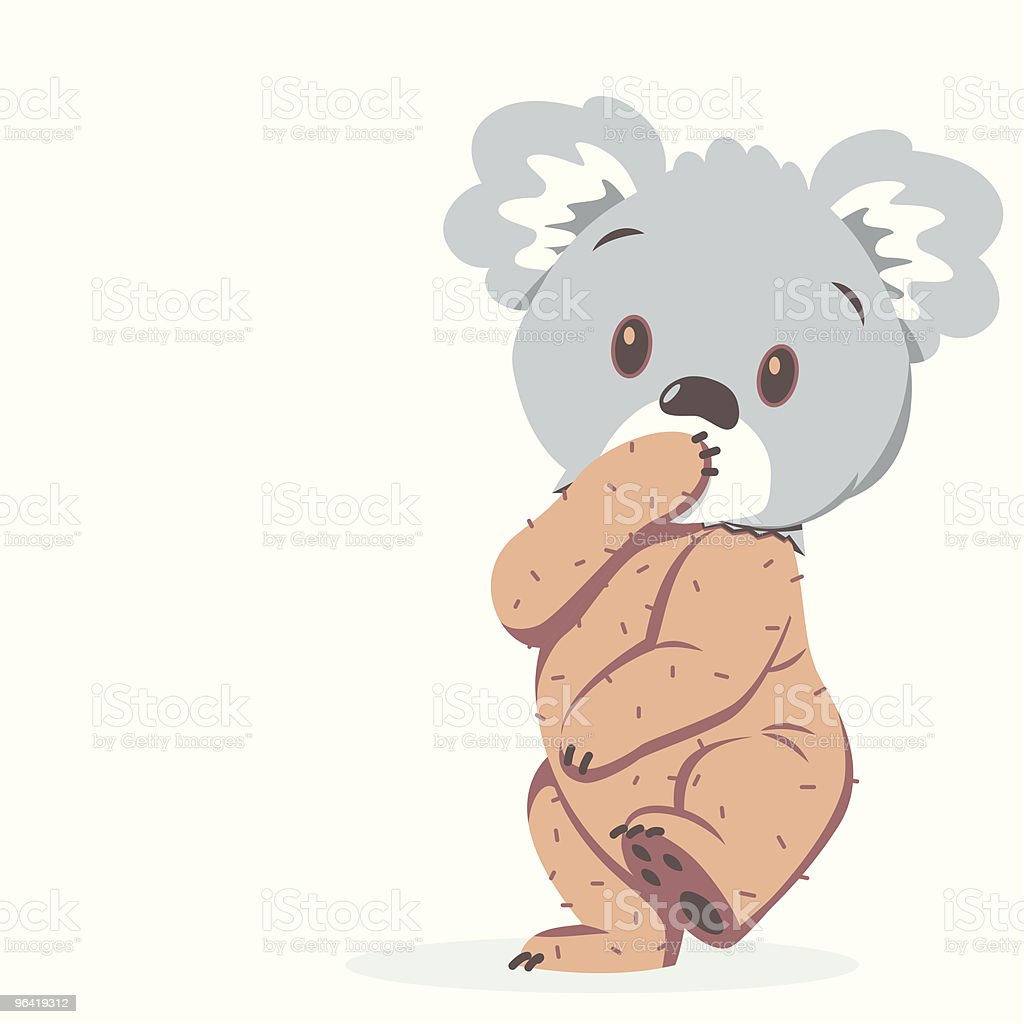 Koala Bare royalty-free koala bare stock vector art & more images of animal themes