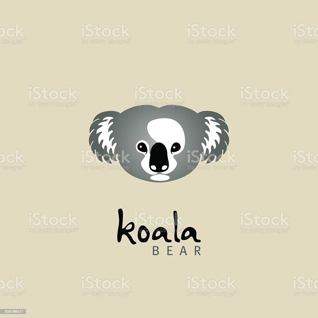 koala. koala bear vector art illustration