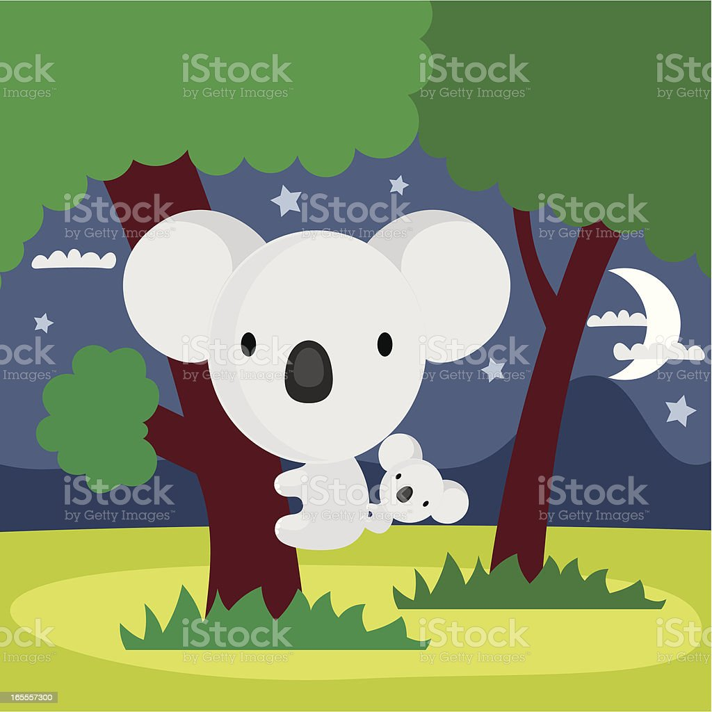 koala royalty-free stock vector art