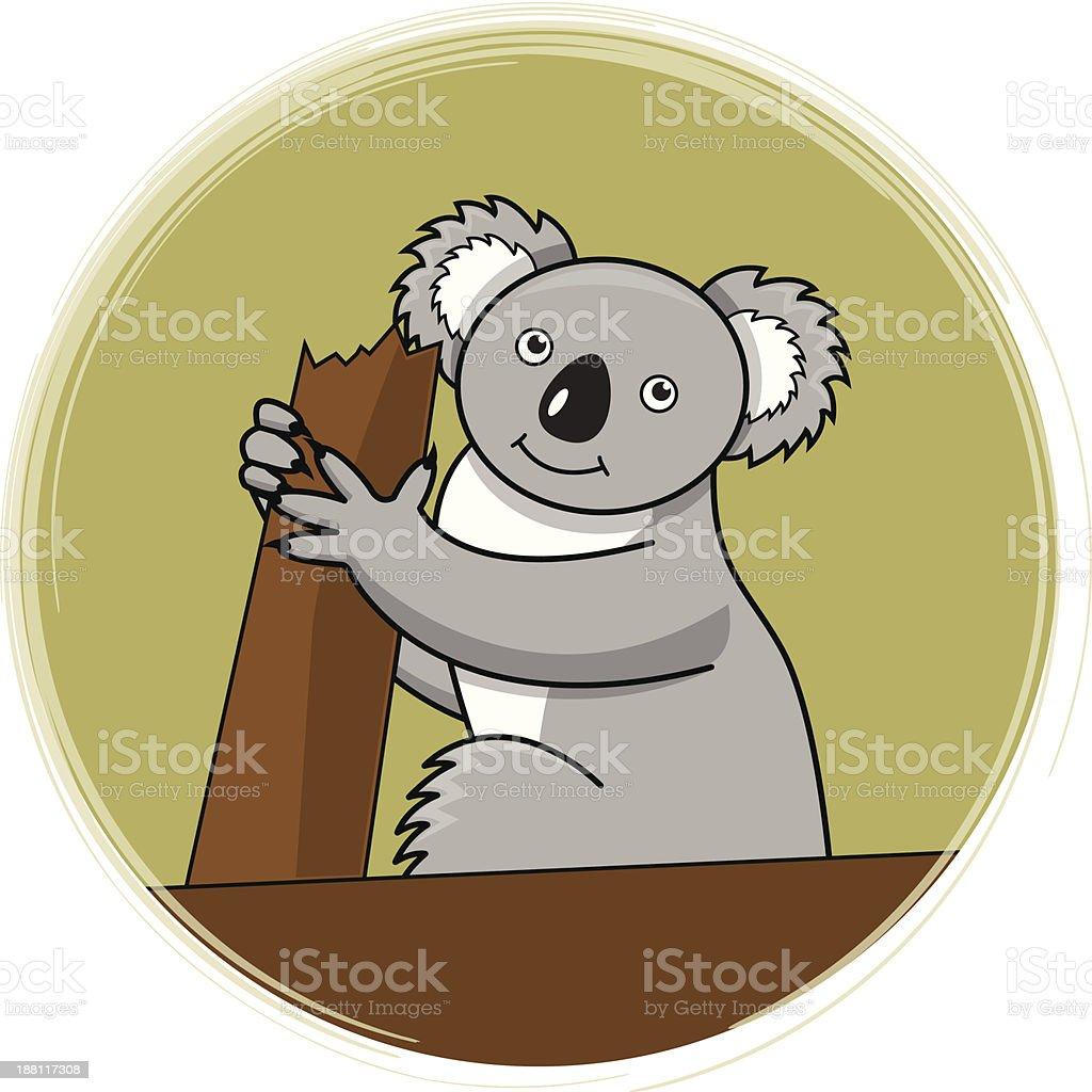 Koala royalty-free stock vector art