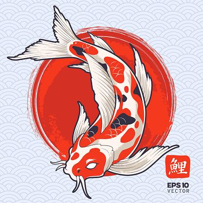 Koi Fish Vector Art