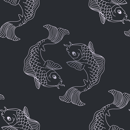 Koi pattern