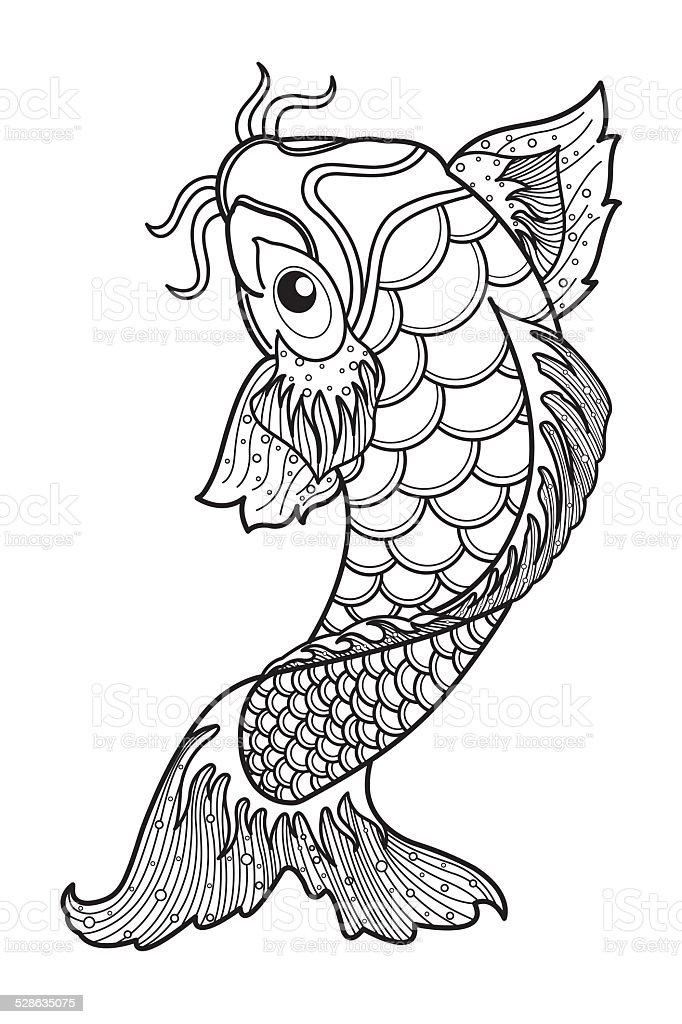 Koi stock vector art more images of art product for Koi fish vector