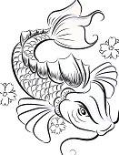 KoiFish sketch