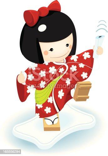 istock kokeshi playing video games 165556294