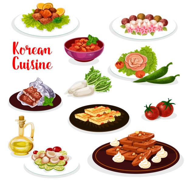 韓国料理 イラスト素材 Istock