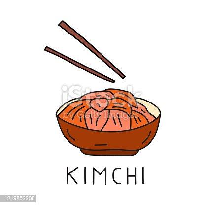 istock Korean traditional dish - Kimchi. 1219852206