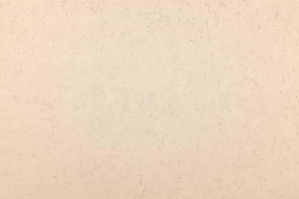 illustrazioni stock, clip art, cartoni animati e icone di tendenza di kraft, texture. kraft paper beige empty background, surface, wallpaper - beige