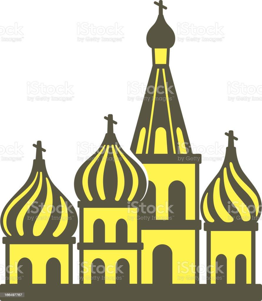 Kreml silhouetta – Vektorgrafik