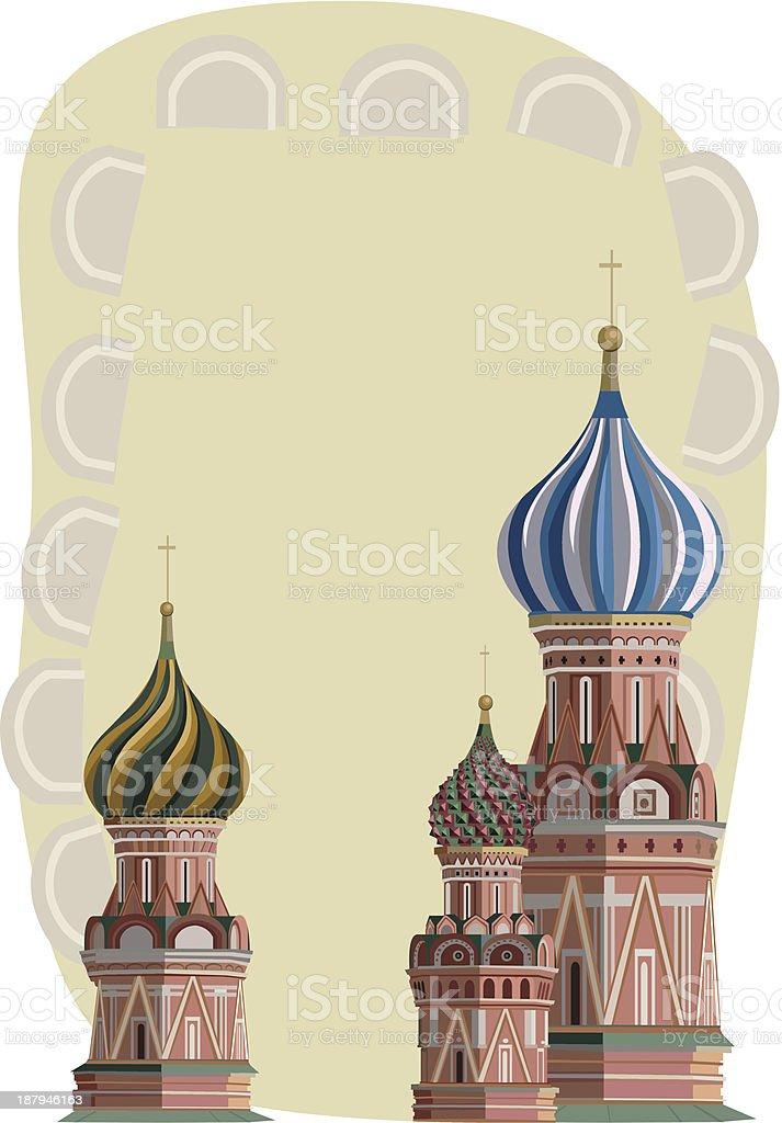 Kremlin Towers vector art illustration