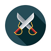 Kung Fu Swords Weapon Icon