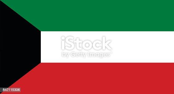 istock Kuwait flag 842115306