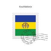 KwaNdebele Flag Postage Stamp