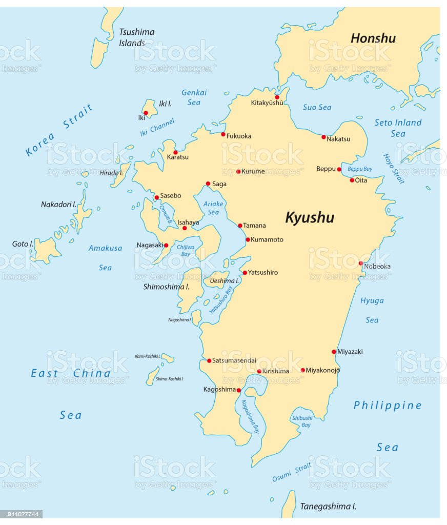 Kyushu Map Stock Illustration - Download Image Now on hainan map, okinawa island, fukuoka map, kuril islands, hiroshima map, sakhalin island map, ryukyu islands map, miyazaki map, kagoshima prefecture, kanto map, japanese archipelago, japanese archipelago map, ryukyu islands, fukuoka prefecture, japan map, okinawa map, manchurian plain map, nagasaki prefecture, gobi desert map, shikoku map, sea of japan, japanese alps map, hokkaido map, honshu map, sumatra map, bangkok map, loess plateau map, kuril islands map, okinawa prefecture,