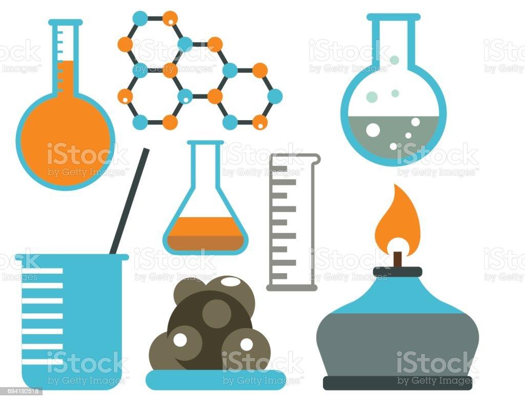 Lab Symbols Test Medical Laboratory Scientific Biology Design