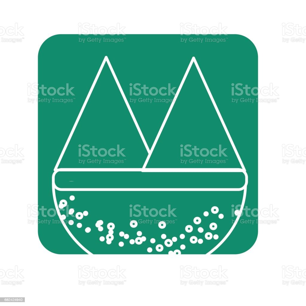 label beautyful and natural mountains ecology royalty-free label beautyful and natural mountains ecology stock vector art & more images of biology