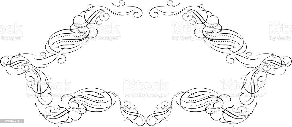 Label Decoration royalty-free stock vector art