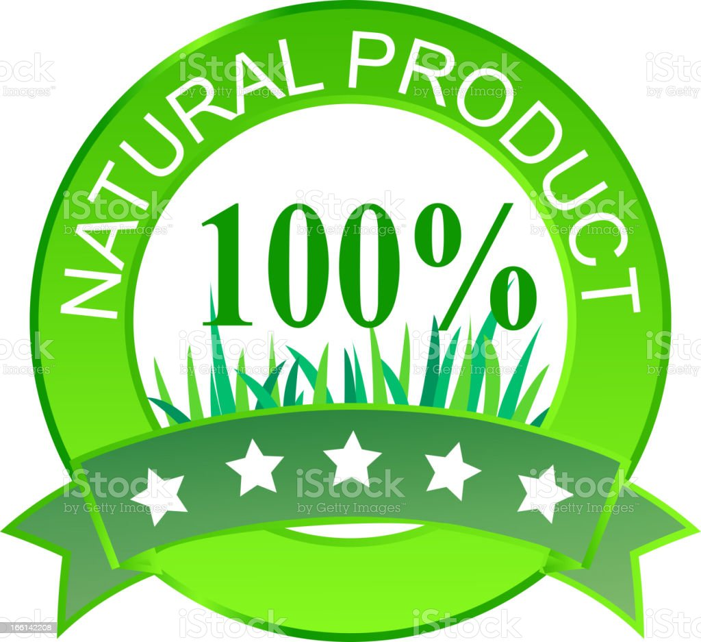Label for natural products. Vector illustration. royalty-free label for natural products vector illustration stock vector art & more images of advertisement