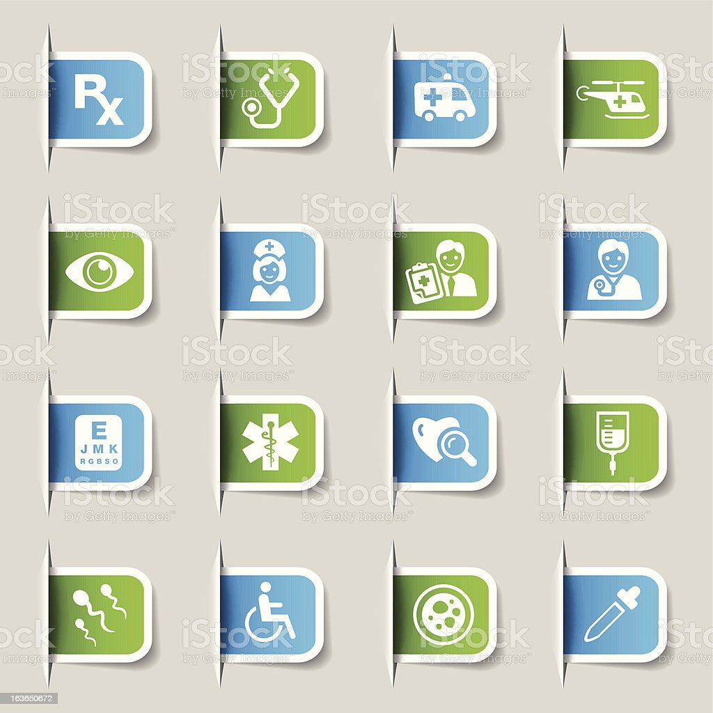 Label - Medical and Healthcare royalty-free label medical and healthcare stock vector art & more images of ambulance