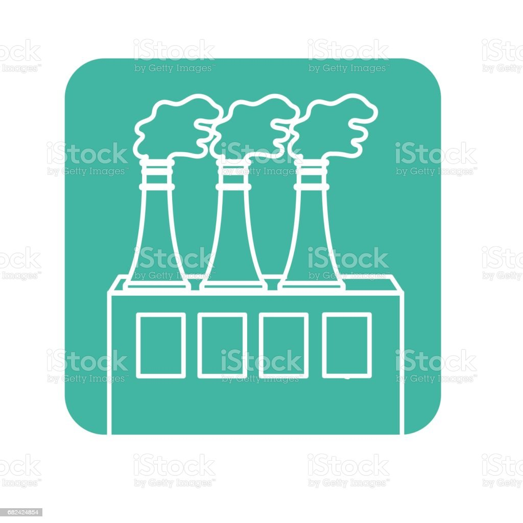 label pollution factory contaminating the environment of planet royalty-free label pollution factory contaminating the environment of planet stock vector art & more images of biology