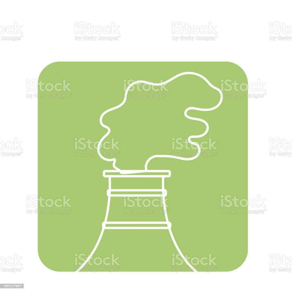 usine de pollution étiquette contamination de l'environnement de la planète usine de pollution étiquette contamination de lenvironnement de la planète – cliparts vectoriels et plus d'images de arbre libre de droits