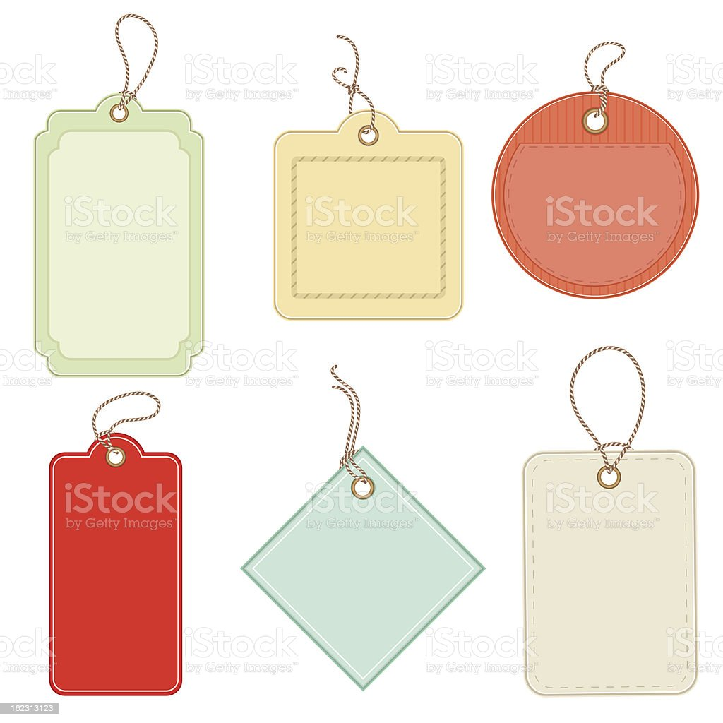 labels and tags royalty-free stock vector art