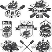 Hiking, Hunting, Fishing, Binoculars, Deer, Editable Stroke Icon Set