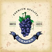 F&B Labels - Grapes