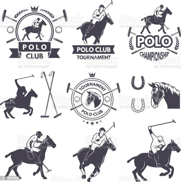 Labels set of sport competition for polo games vector id935534006?b=1&k=6&m=935534006&s=612x612&h=bwec5ydz c44s7m2ylbhbk34lzlhz2izssshzqi cla=