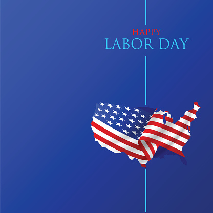 Labor Day Poster. Happy labour day. Labour day vector illustration stock illustration