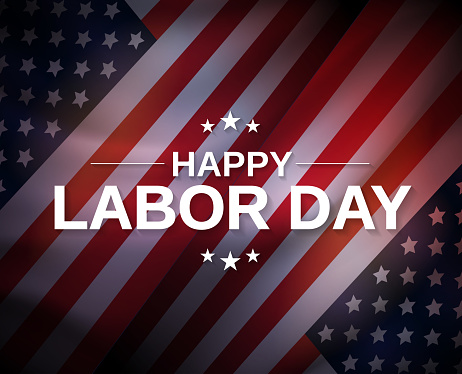 Labor Day poster. Vector