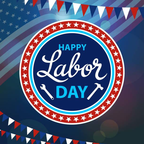 ilustraciones, imágenes clip art, dibujos animados e iconos de stock de el día del trabajador - día del trabajo