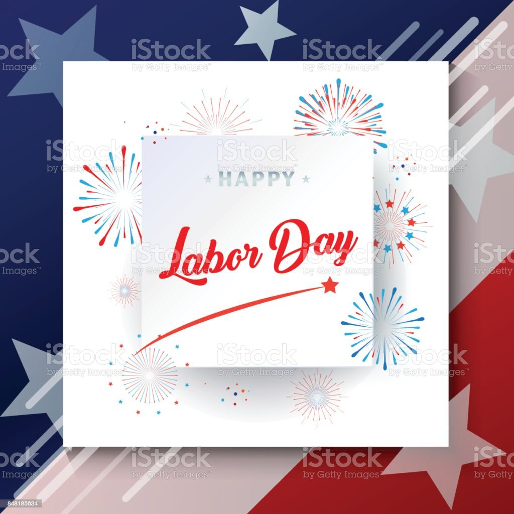 Labor Day vector art illustration