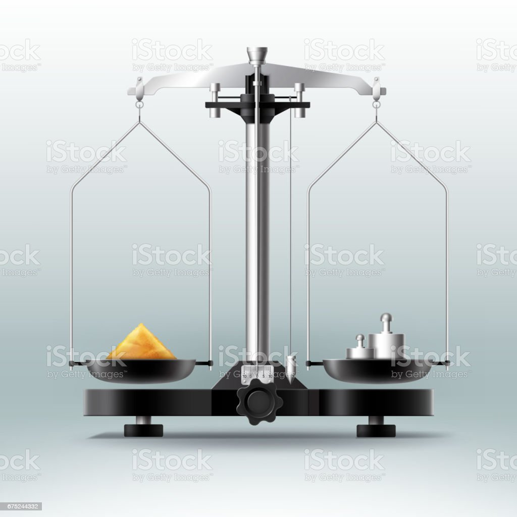 Laboratory balance with weights dumbbells and stuff royalty-free laboratory balance with weights dumbbells and stuff stock vector art & more images of accuracy