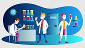 istock Laboratory coronavirus vaccine antiviral biology research antivirus doctors 1283022007