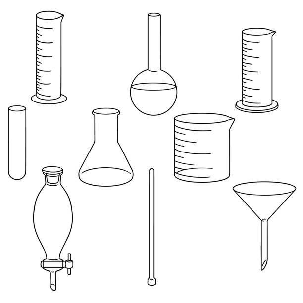 Royalty Free Laboratory Glassware Clip Art, Vector Images ...