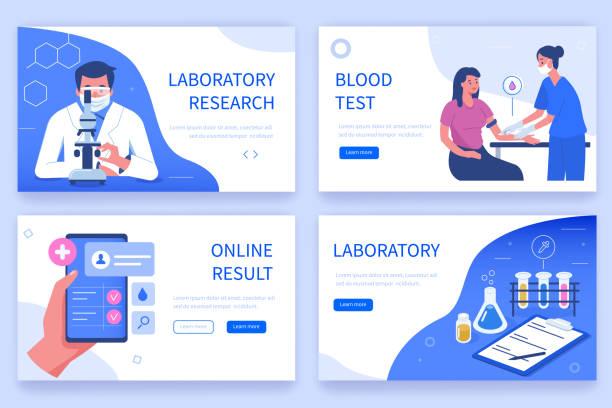 ilustrações de stock, clip art, desenhos animados e ícones de laboratory research - scientist
