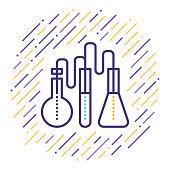 istock Laboratory Test Line Icon 1035796632