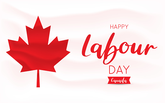 Labour Day Canada. Vector