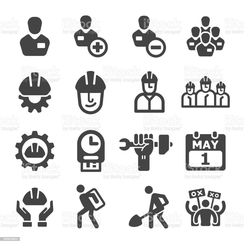 Arbeitsrechtsymbol Stock Vektor Art und mehr Bilder von ...