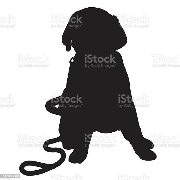 Labrador puppy silhouette vector id512996383?b=1&k=6&m=512996383&s=612x612&h=bclikeylxts6bntjgj4wckficd0ioee1eocaepbno8o=