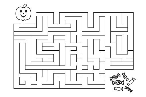 Labyrinth for children.