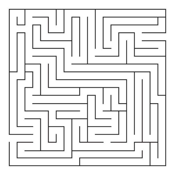 labyrinth. labyrinth. - labyrinthgarten stock-grafiken, -clipart, -cartoons und -symbole