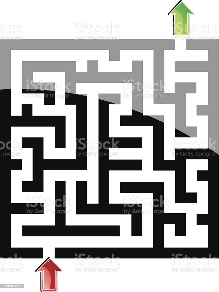 labyrinth royalty-free labyrinth stock vector art & more images of abstract