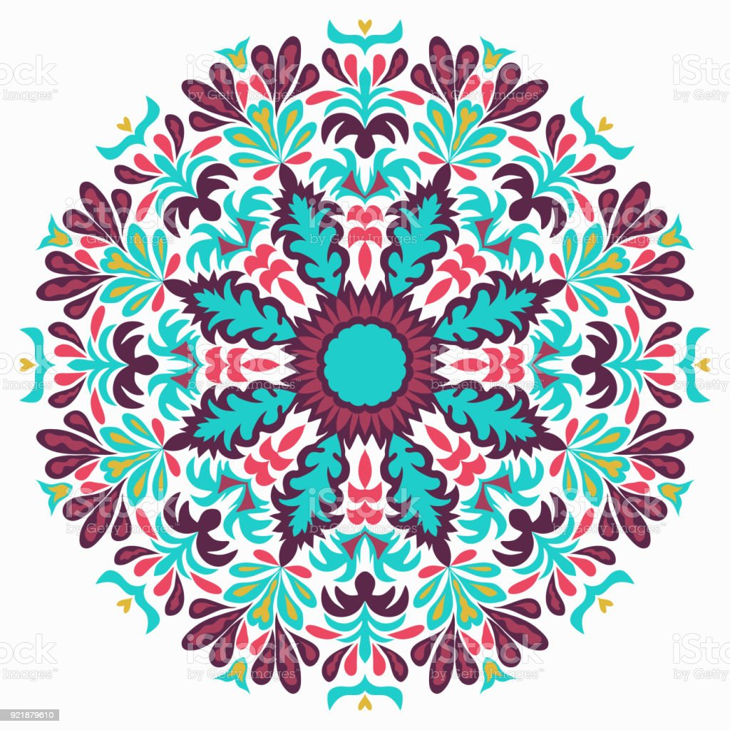 lace background beautiful mandala vector illustration stock vector rh istockphoto com