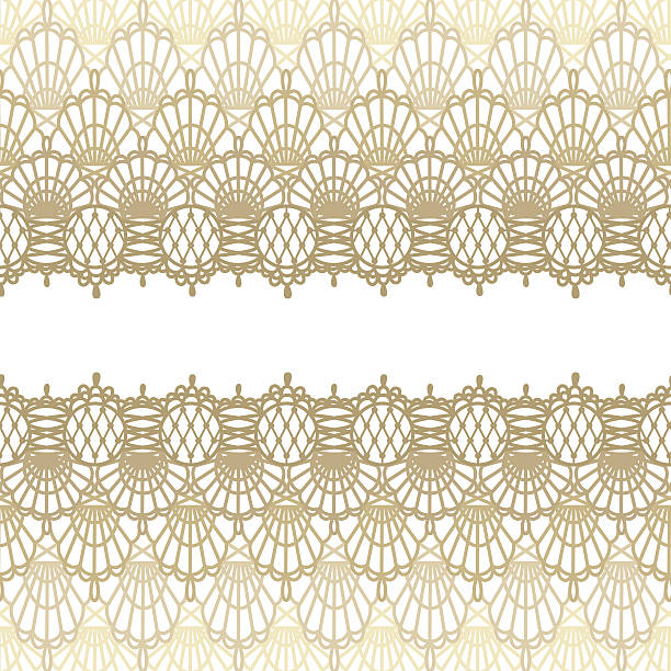 Lace Background Vector illustration of lace card. EPS8, AI10, high res jpeg included. french culture stock illustrations